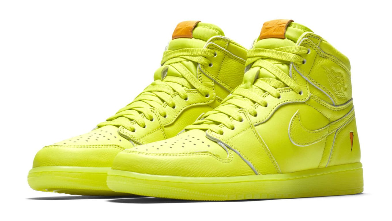 purchase cheap fb998 73487 Air Jordan 1 Gatorade Cyber Yellow Lime Release Date AJ5997 ...
