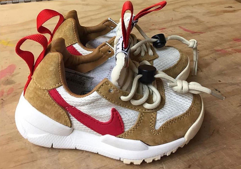 Tom Sachs x Nike Mars Yard 2.0 Toddler  Natural Maple Sport Red ... 8540cbbd4f