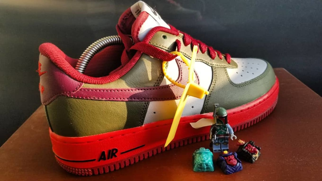 best loved 263d9 acb0a Air Force 1 Low  Boba Fett