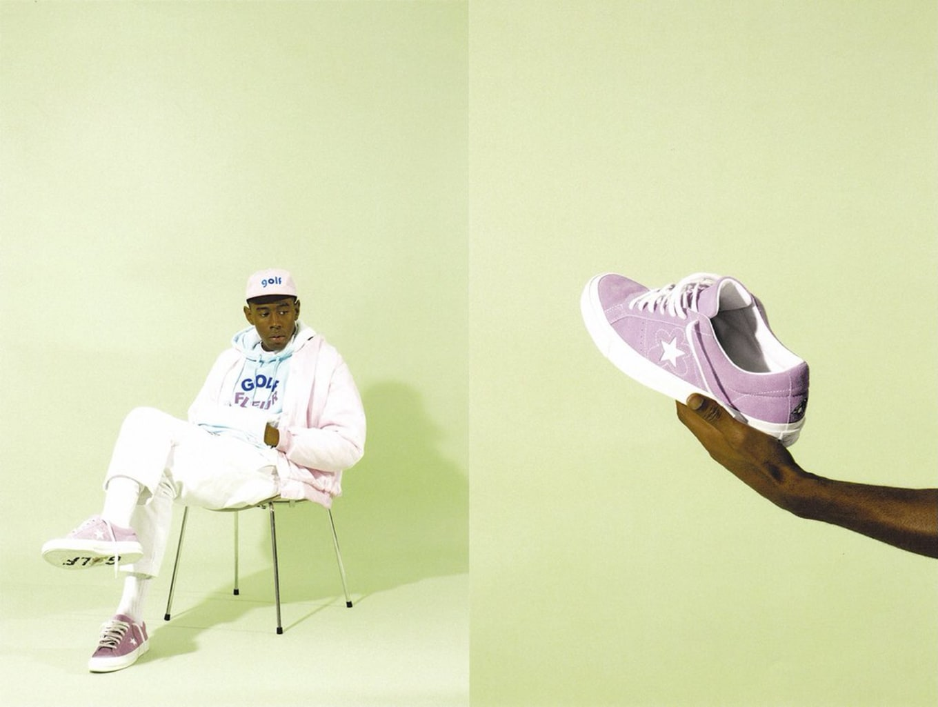 Tyler the Creator Converse One Star Flower Boy  d909e8443
