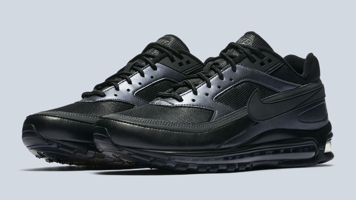 new concept 1895b 07e49 Nike Air Max 97/BW Black Release Date AO2406-001 | Sole ...