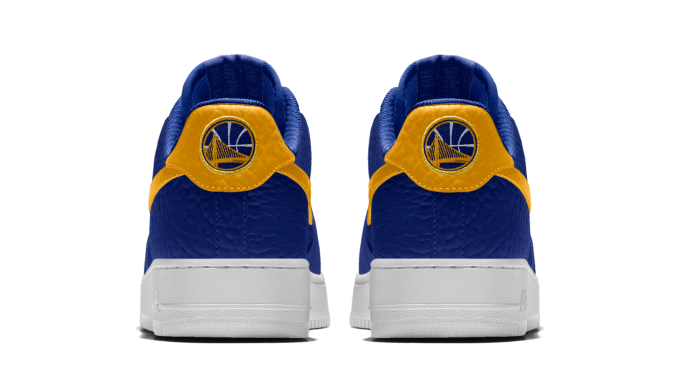 competitive price 0f81c 1672e Nike Air Force 1 Golden State Warriors