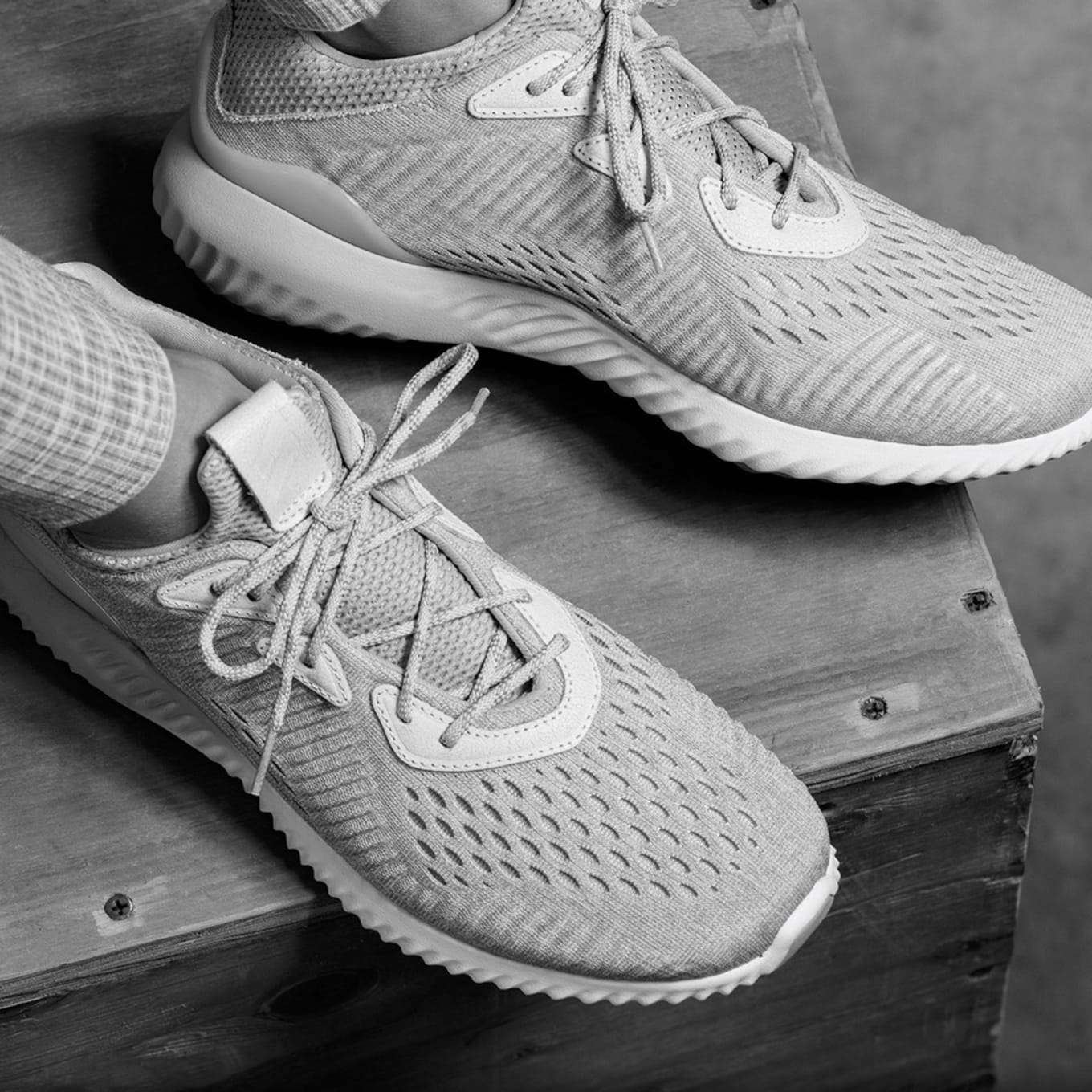 f169666743501 Adidas Unveils Another Collab With Reigning Champ. Featuring the Pure Boost  and Alpha Bounce.