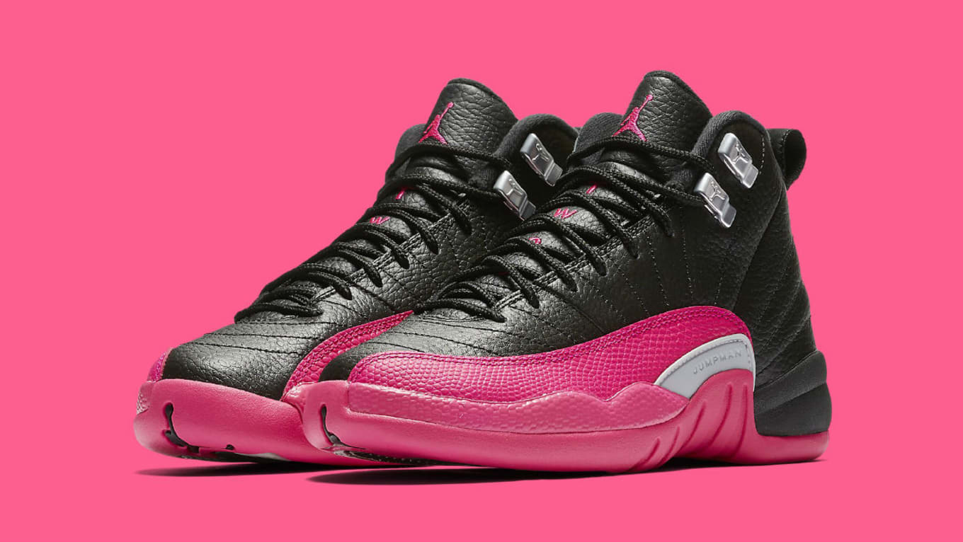 newest 3aa53 5f11d Another Exclusive Air Jordan 12 for Girls. Release information for the  Deadly  Pink  colorway.