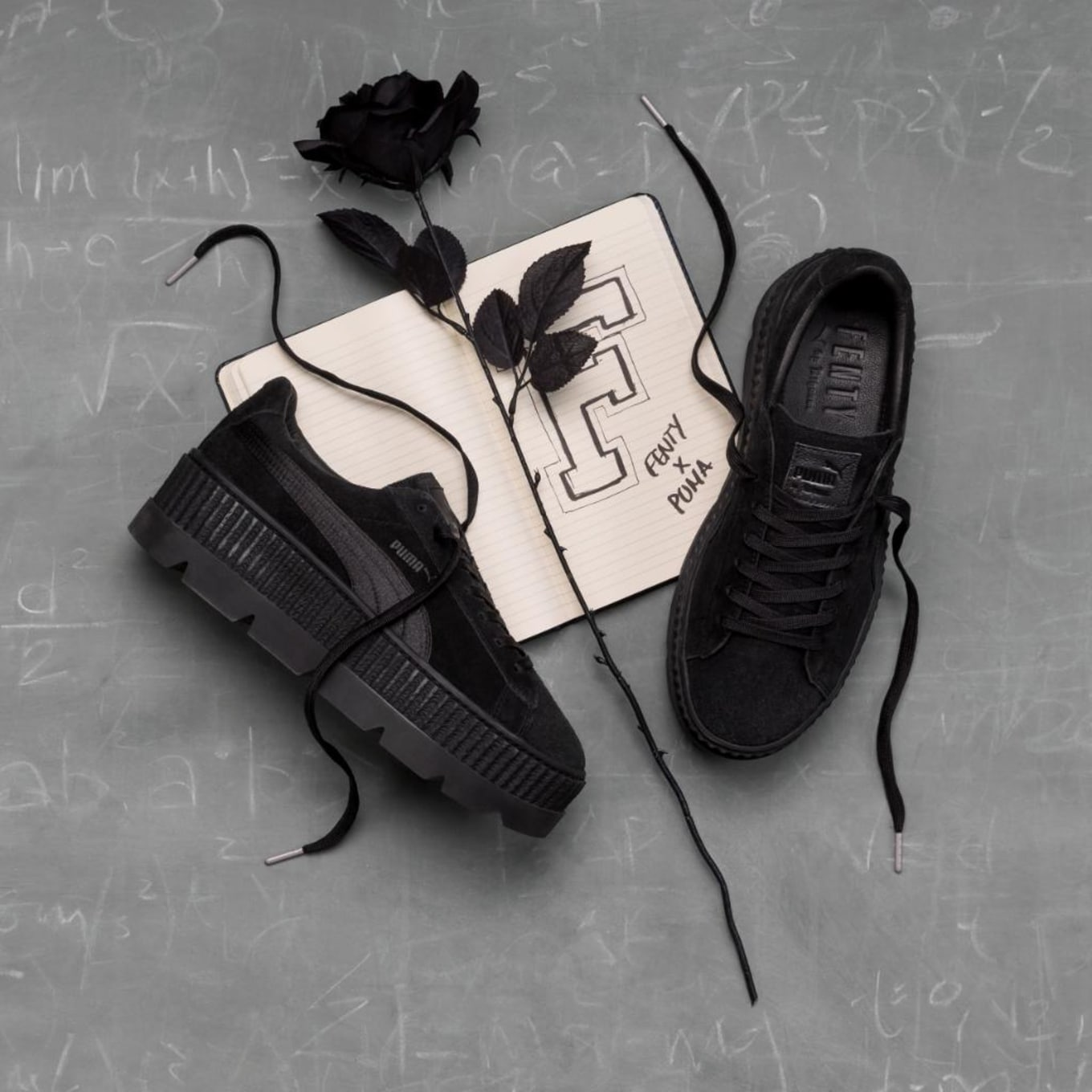 info for d2ce8 61c07 Rihanna x Puma Fenty Suede Cleated Creeper Release Date ...