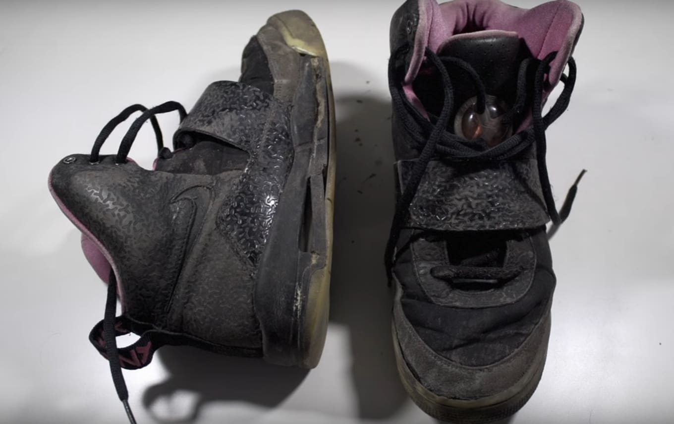65c9beeed3182 Watch This Amazing Nike Air Yeezy Restoration. A pair of
