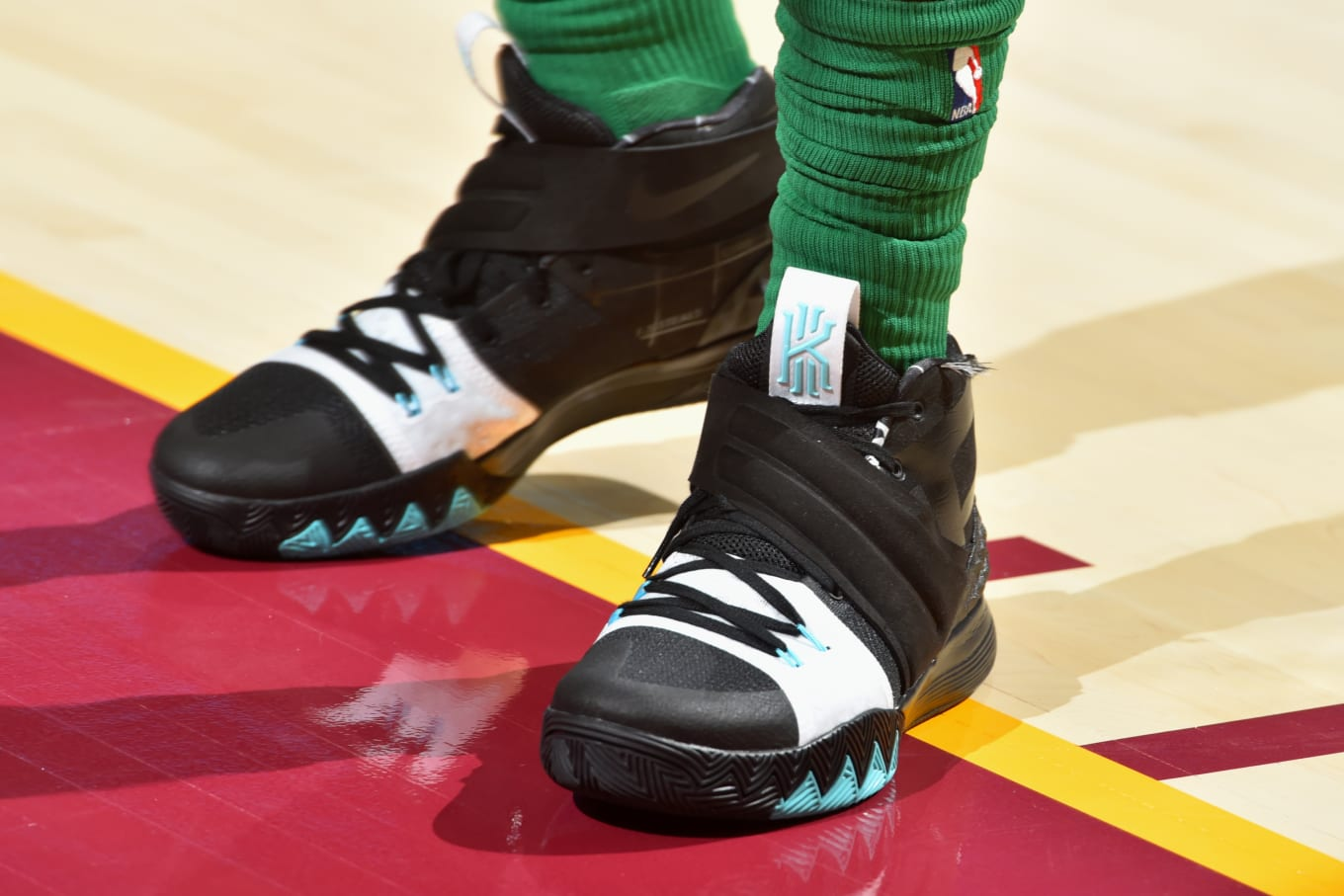 bbbcfbf88b0 Kyrie Irving Debuts New Nike Sneaker. A hybrid of the Kyrie 1