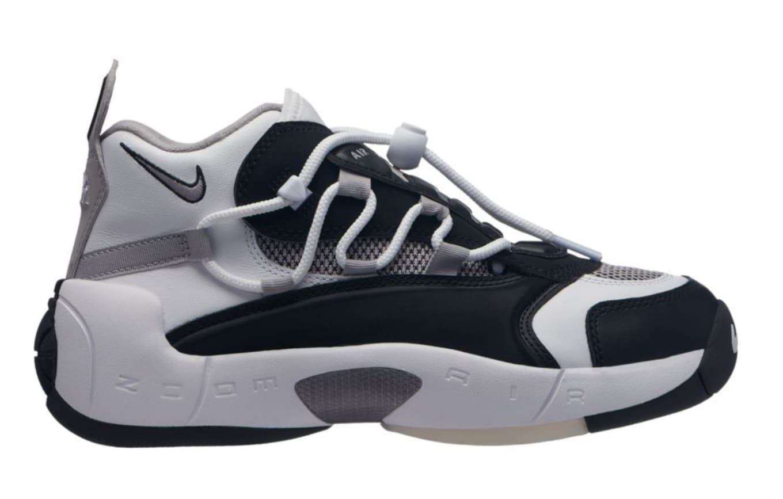 4c3c86d1c4a Nike Air Swoopes 2  Black Atmosphere Grey Black  917592-001 Release ...