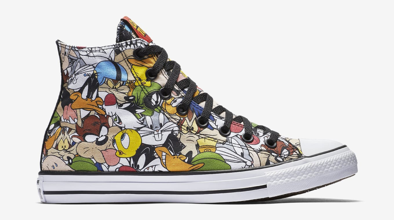 Relive Your Childhood With Looney Tunes Converse Sneakers 96de2f924