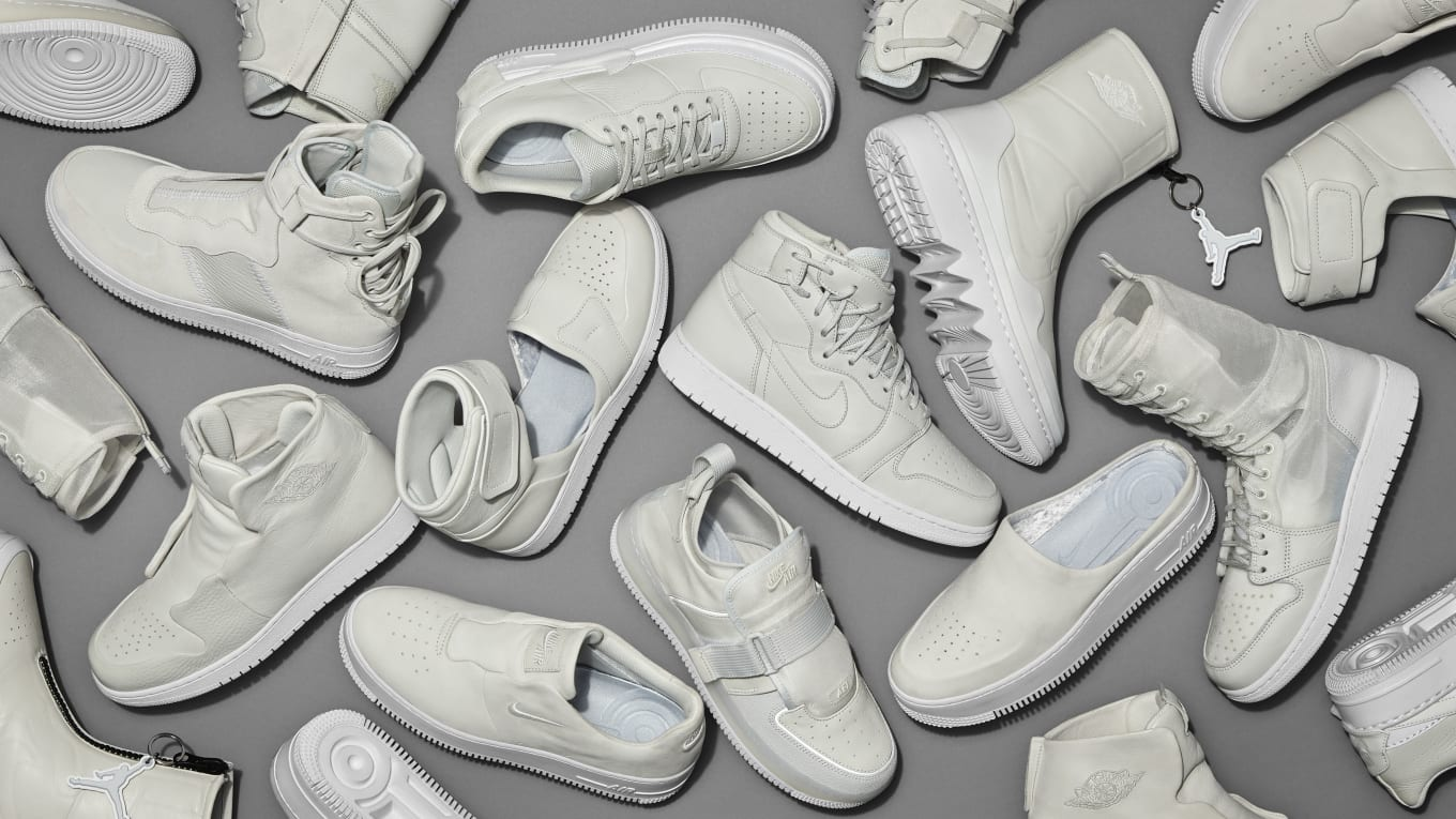576864f55b58 Nike Air Force 1 Air Jordan 1 Reimagined