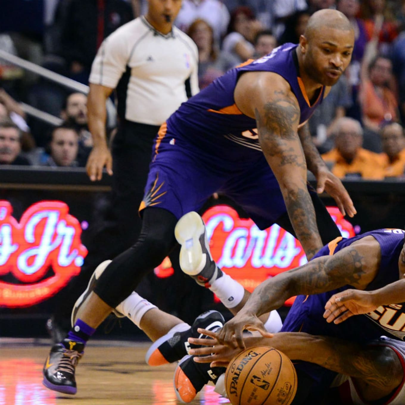 new product 580b3 d8414  SoleWatch  P.J. Tucker Dusts Off a Pair of Kobe s Old Nikes