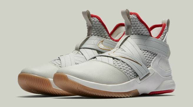 06f4c4e7b63 Upcoming Nike LeBron Soldier 12 Seemingly Borrows From the Nike Air Yeezy 2