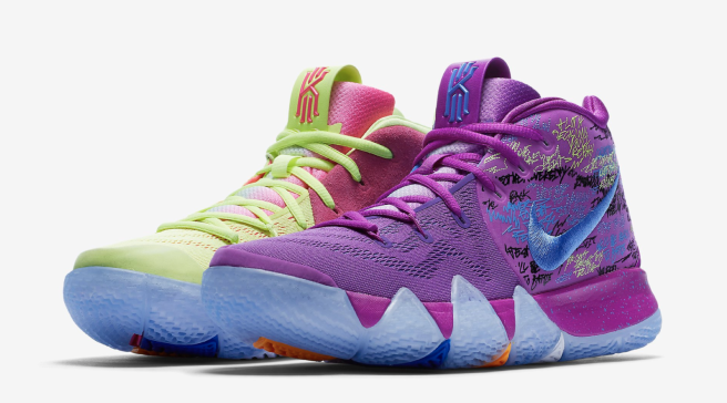 Nike Kyrie 4 EP Multi-color 943806-900 (Pair) 4c471f399
