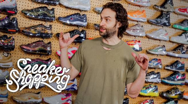 Chris D Elia Goes Sneaker Shopping With Complex  96ad33045