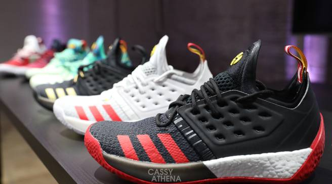 finest selection 81a72 9f010 An Early Look at New Adidas Harden Vol. 2 Colorways