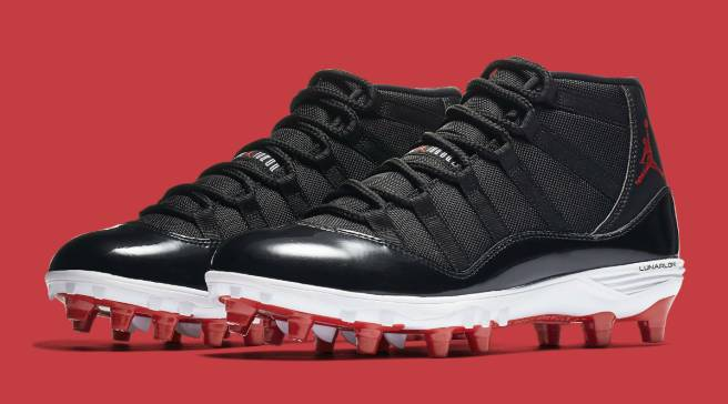 e843be9aed92  Bred     Columbia  Air Jordan 11 Cleats Releasing in High and Low Cuts