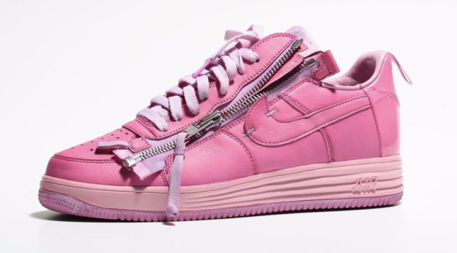 2a624845b760 Acronym Founder Errolson Hugh Dyed His Nike Collab Pink