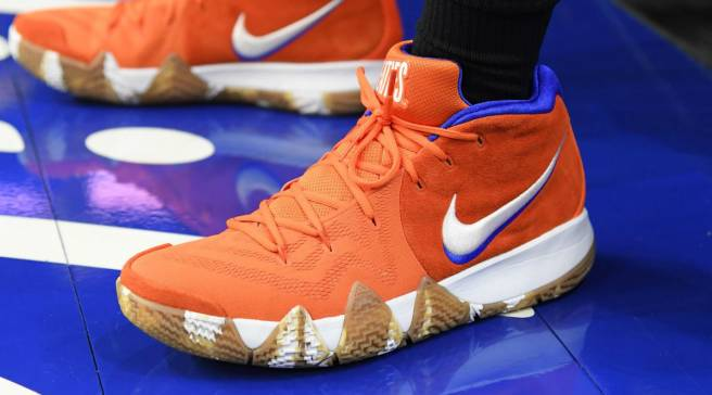 newest f7819 9d144  SoleWatch  Jayson Tatum Debuts the  Wheaties  Nike Kyrie 4