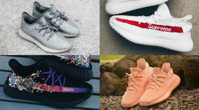 004eff172 The 50 Best Adidas Yeezy 350 Boost V2 Customs