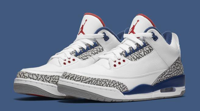 5d327684f24018  True Blue  Air Jordan 3s Releasing on Black Friday