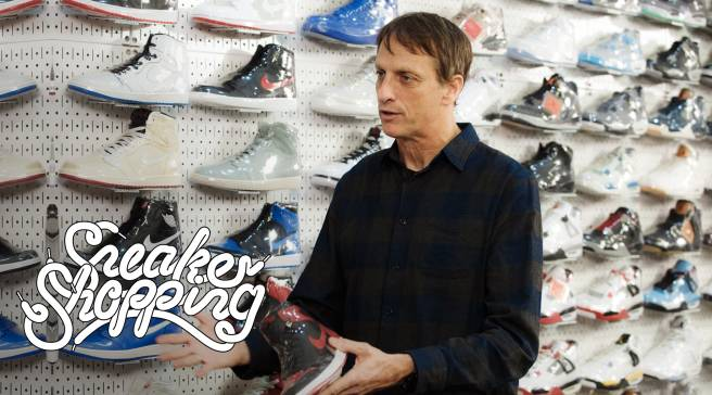 Tony Hawk Goes Sneaker Shopping With Complex  68e828694