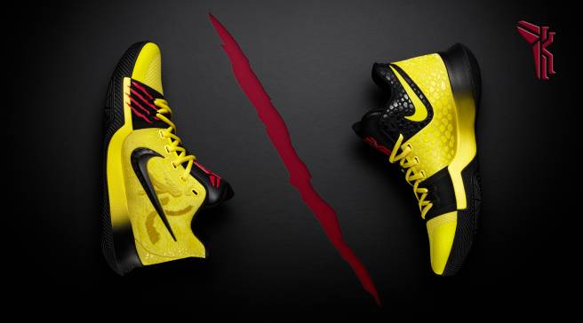 2bb3894540d Kyrie Irving s Bruce Lee and Kobe-Inspired Sneakers Release on Sept. 15