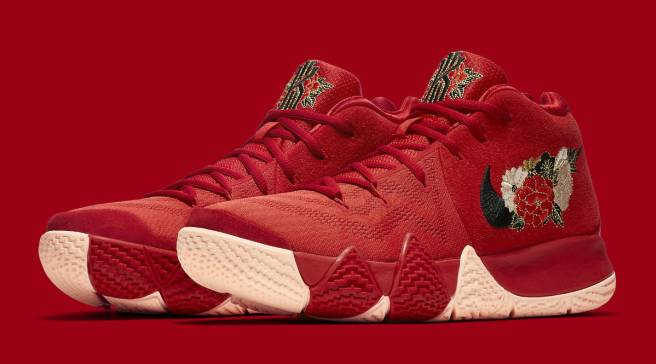 best sneakers 6712e da3c6 Floral Nike Kyrie 4 Celebrates Chinese New Year