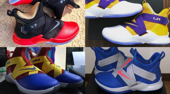 hot sale online 3d7c0 48c0b The 50 Best NIKEiD LeBron Soldier 12 Designs