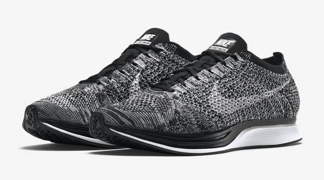 best sneakers e55d8 0788e  Oreo  Nike Flyknit Racers Are Restocking