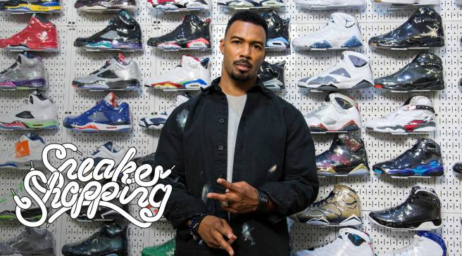 Omari Hardwick Goes Sneaker Shopping With Complex  e3130068b