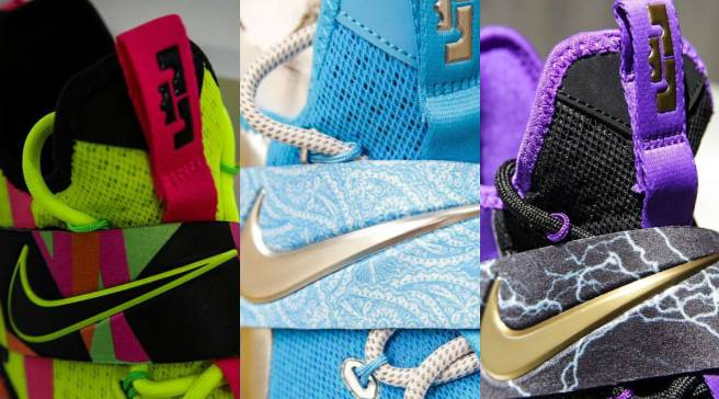 f0634386c4b Are These Nike LeBron 14s Inspired by WWE Wrestlers