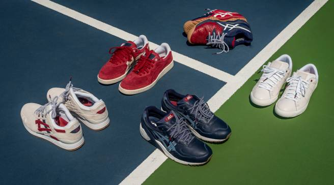 be04702e91b Asics Preps for US Open With Tennis-Heavy Packer Shoes Collab