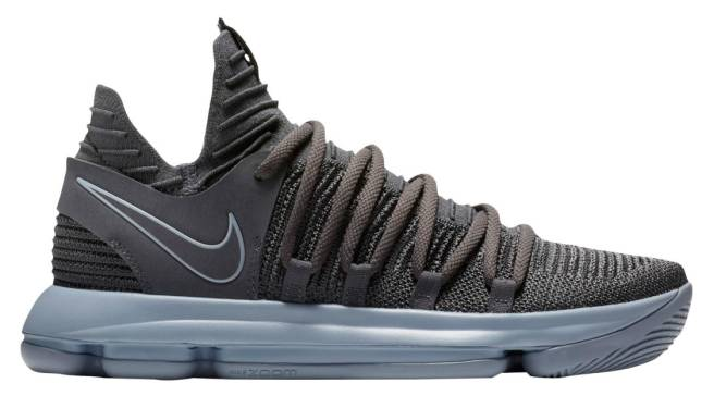 aa7291a9b67 The Nike KD 10 Is on the Way in Dark Grey