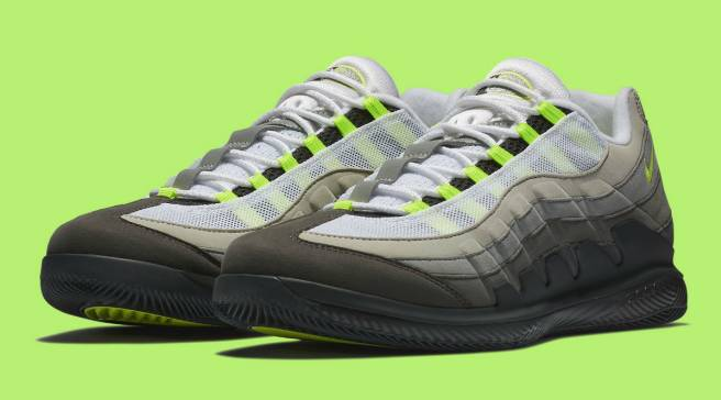 29b44db60ddb The Classic  Neon  Air Max 95 Re-Tooled for Roger Federer