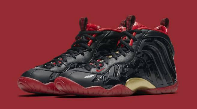 7d235a146c2 Vampire-Inspired Nike Foamposites Release on Friday the 13th