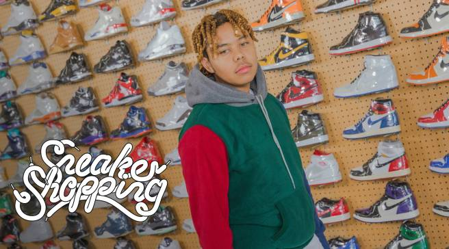 YBN Cordae Goes Sneaker Shopping With Complex  b65a91e24
