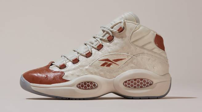 e3fedeab0590 Allen Iverson s Reeboks Don Ostrich-Style Leather