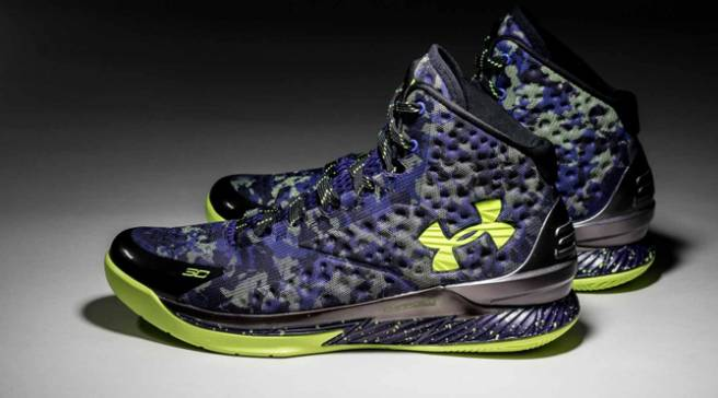 Steph Curry and Under Armour Channel Dark Matter for All-Star Shoe 37a6d040b40d
