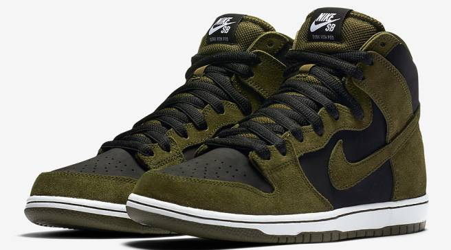 79c12d1e98ed  Medium Olive  Nike SB Dunk Highs Are Coming