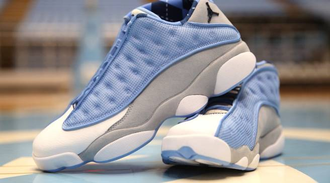 finest selection 6bebc f7b27 UNC Basketball Team Gets Exclusive Air Jordan 13s