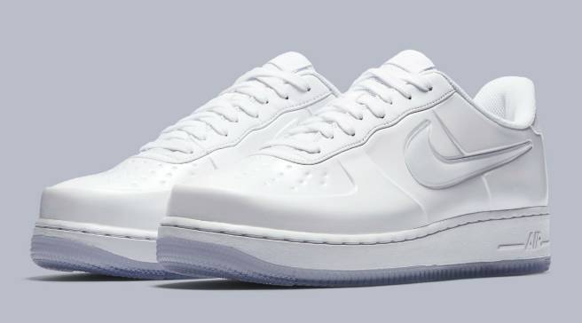 99a46818ff613  Triple White  Nike Air Force 1 Lows with a Touch of Foamposite