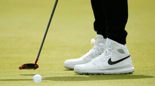d8c252b6aad  SoleWatch  Jason Day Wears Air Jordan 1 Golf Shoes