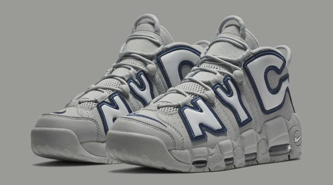 huge selection of 2df9a 311e5 New York City Gets Nike Air More Uptempos in Yankees Colors