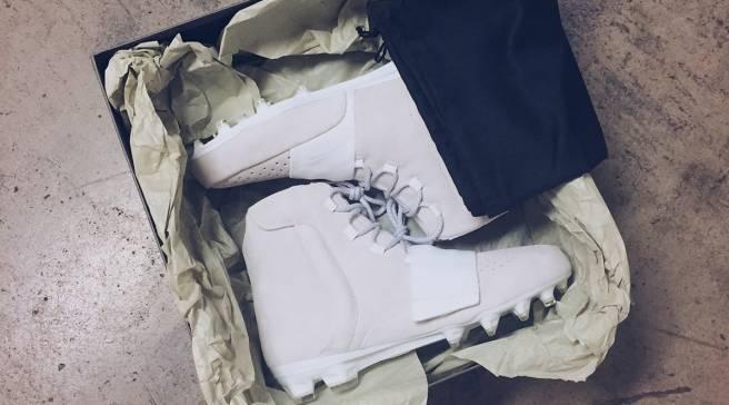 7603df1151a Von Miller Will Wear Adidas Yeezy Cleats for NFL Kickoff