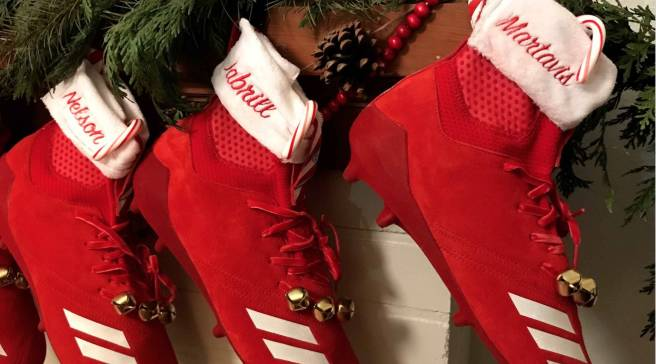 2404fb0a11fea4 Adidas Football Christmas Stocking Cleats (1)