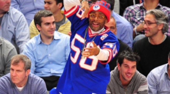 huge discount 21c72 28f8d  SoleWatch  Spike Lee Gears Up For Super Bowl In  Metallic Red  Foamposite  One