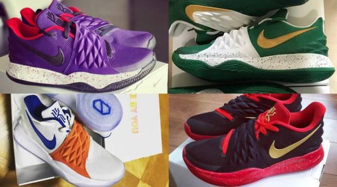 separation shoes 02d46 37610 The 50 Best NIKEiD Kyrie Low Designs