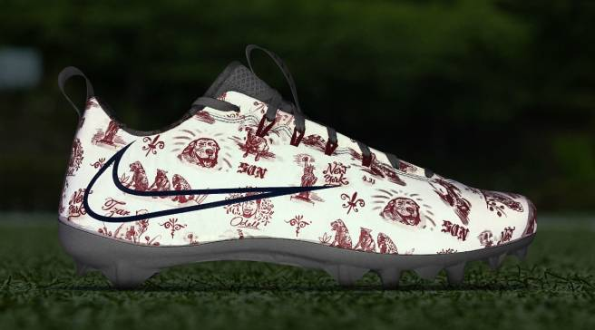 744234ac5301 Odell Beckham s Most Personal Custom Cleats to Date