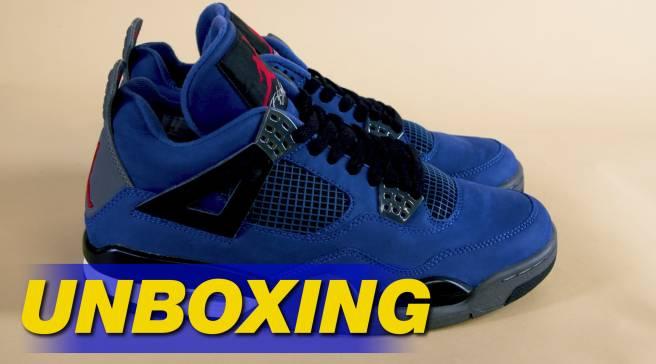 074451da Eminem Air Jordan 4 IV Encore Unboxing