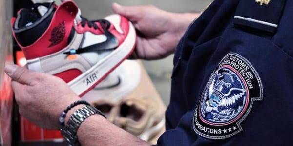 Nearly 15,000 Fake Nikes Seized at Port of Los Angeles